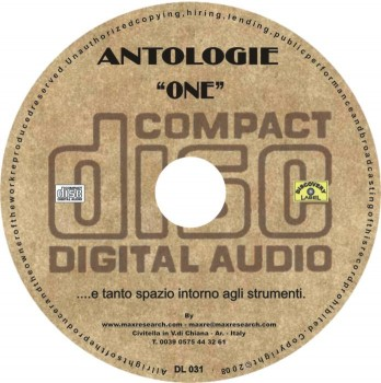 07 DL031 stampa su cd etichetta cd II web 348x350 Antologie One   (DL031)