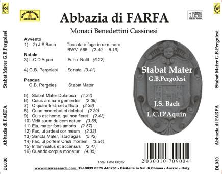 Abbazia di Farfa   Stabat Mater (DL030)