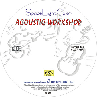 acoustic workshop cd Space Light Color   Acoustic Workshop (DL003)