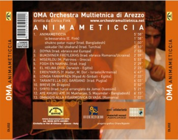 animameticcia back1 350x276 Animameticcia   O.M.A. Orchestra Multietnica Di Arezzo (DL032)