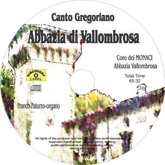 canto gregoriano cd Il Canto Gregoriano   Abbazia  di Vallombrosa (DL010)