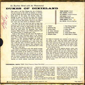 "dukes back ""ON BOURBON STREET, VOL 4""   The Phenomenal Dukes Of Dixieland (001)"