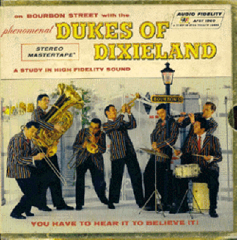 "dukes front ""ON BOURBON STREET, VOL 4""   The Phenomenal Dukes Of Dixieland (001)"