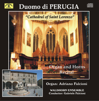 dumo perugia front La Cattedrale di Perugia   Organ and Horns Recital (DL029)