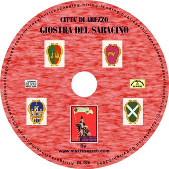 giostra cd Giostra Del Saracino   Città di Arezzo (DL026)