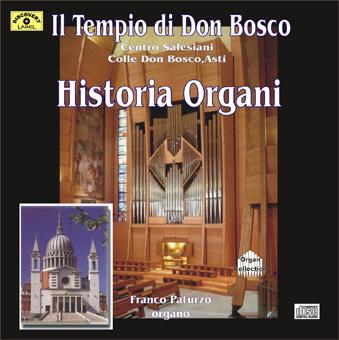 historia organi front Historia Organi    Tempio Don Bosco (DL011)