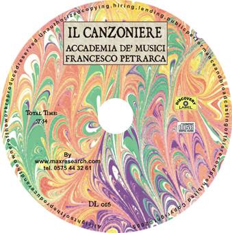 il canzoniere cd Il Canzoniere   Accademia De Musici   Francesco Petrarca (DL016)