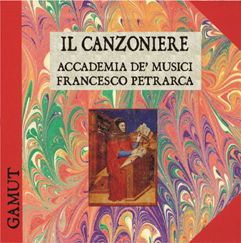 il canzoniere front Il Canzoniere   Accademia De Musici   Francesco Petrarca (DL016)