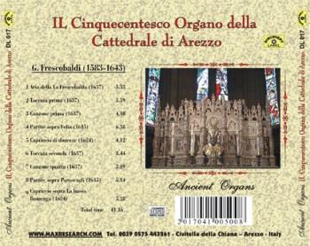 il cinquecentesco back 350x278 Il Cinquecentesco Organo della Cattedrale di Arezzo   Girolamo Frescobaldi (DL017)