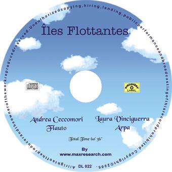 iles flottantes cd Iles Flottantes   A.Ceccomori, L.Vinciguerra (DL022)