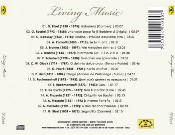 living music back 350x270 Living Music (DL023)