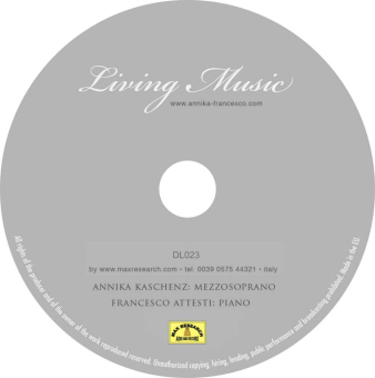 living music cd Living Music (DL023)