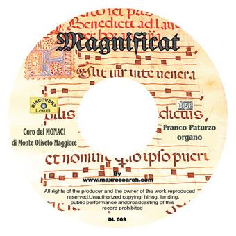 magnificat cd Magnificat   Abbazia Di Monte Oliveto Maggiore (DL009)