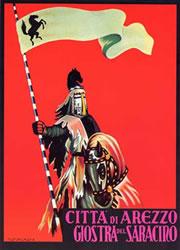 manifesto giostra diurna Giostra Del Saracino   Città di Arezzo (DL026)