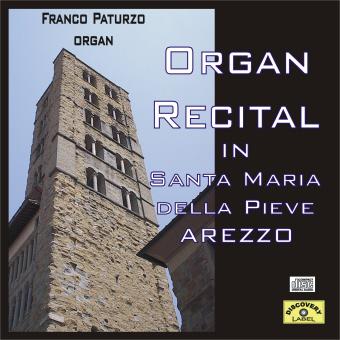 organ recital front Organ Recital   Santa Maria delle Grazie Arezzo (DL001)