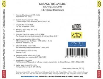 paesaggi back 350x269 Paesaggi Organistici   Organ Landscapes   (DL014)