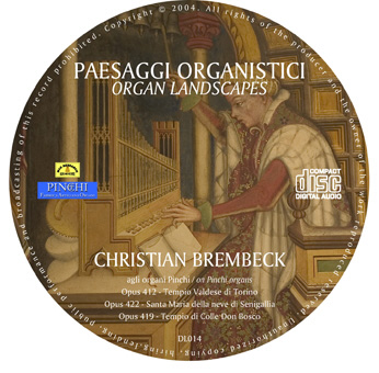 paesaggi cd Paesaggi Organistici   Organ Landscapes   (DL014)