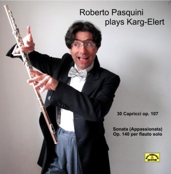 pasquini front Roberto Pasquini Plays Karg Elert (DL040)