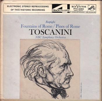 rescpighi front 350x345 Respighi   Fontane di Roma   Pini di Roma   Conductor: Arturo Toscanini (015)
