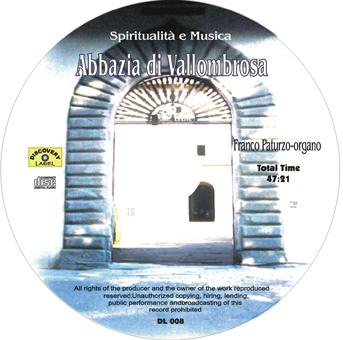 spiritalità e musica cd Spiritualita e Musica   Abbazia di Vallombrosa (DL008)