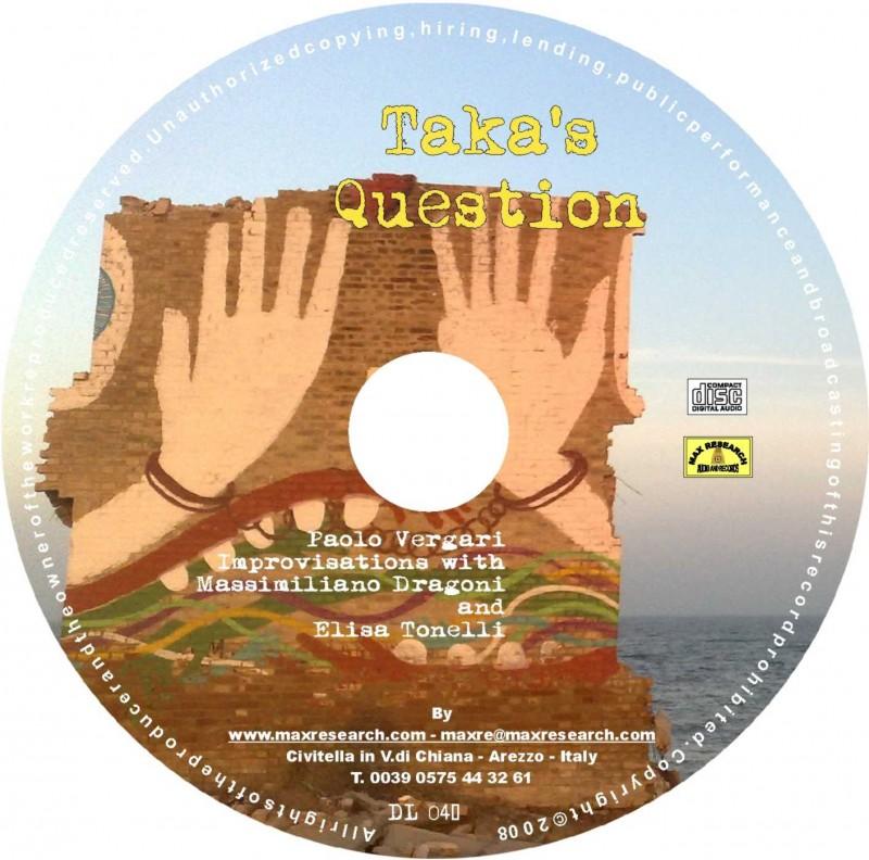 taka s cd 800x792 Taka's Question (DL041)
