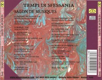 tempi di sfessania back 350x277 Tempi Di Sfessania   Salon De Musique (DL027)