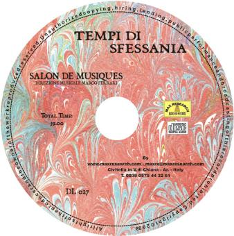 tempi di sfessania cd Tempi Di Sfessania   Salon De Musique (DL027)