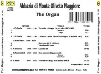 the organ back 350x259 The Organ   Abbazzia di Monte Oliveto Maggiore (DL007)