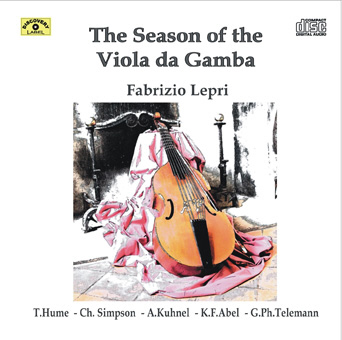 the seasons front The Season Of The Viola Da Gamba –  Fabrizio Lepri (DL004)