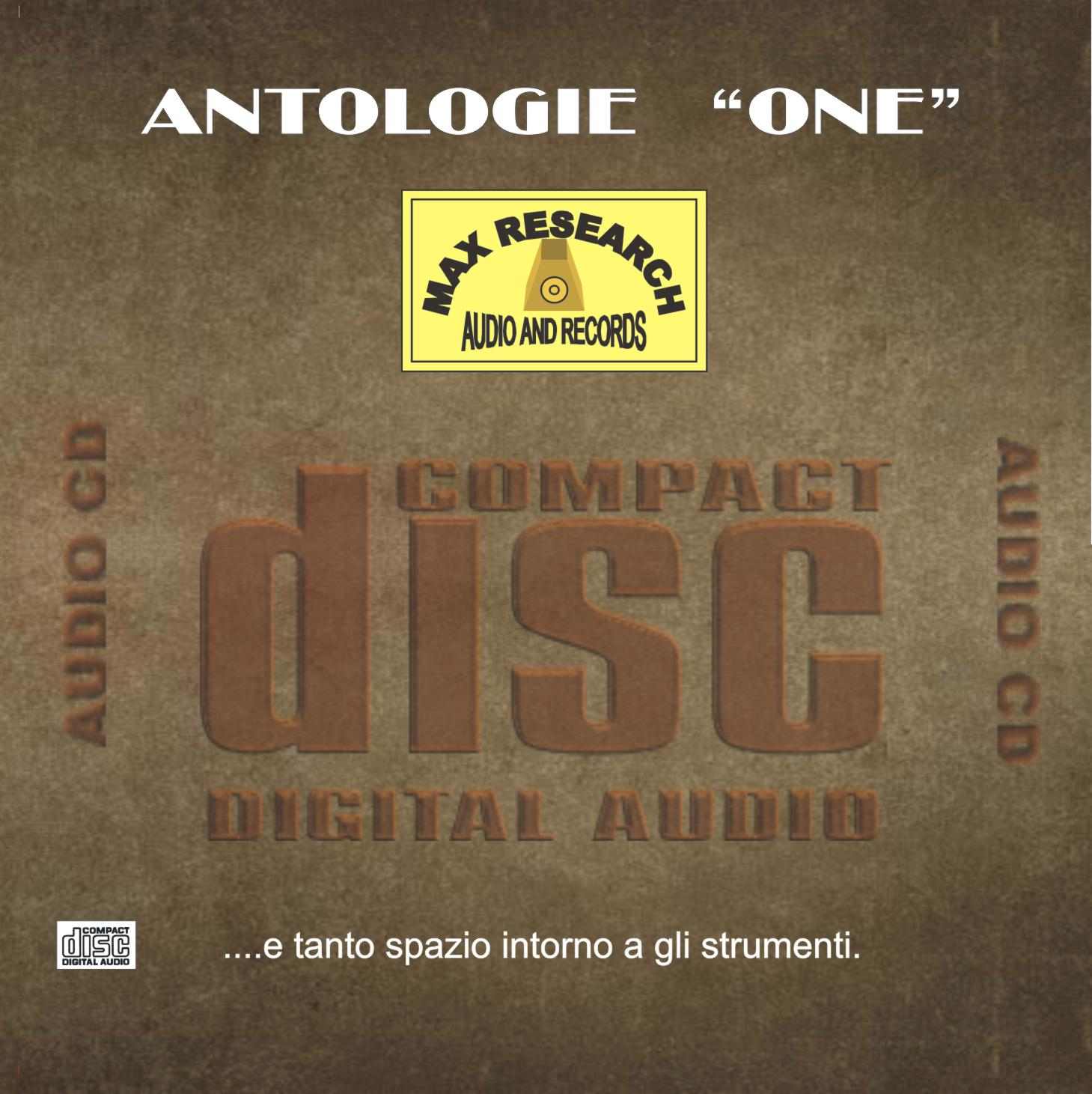01 dl031 antologie one copertina cd web Antologie One   (DL031)