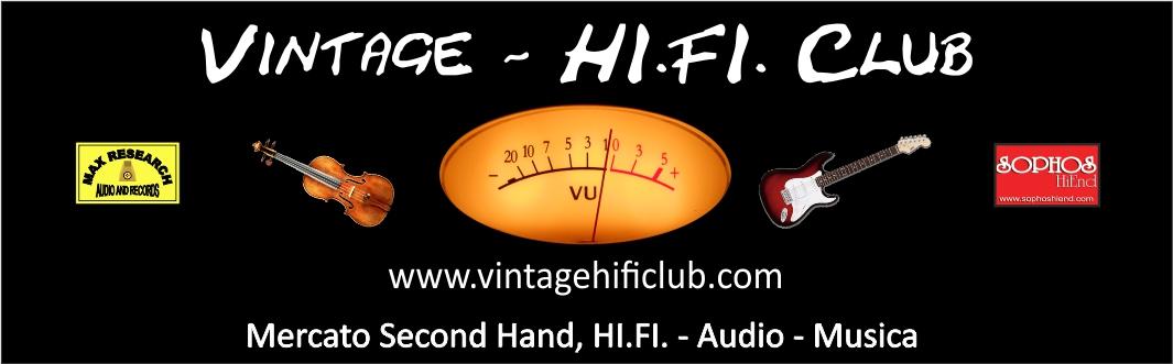 Vintage hi.fi . club logo 3 Vintage Second Hand HI.FI. Music Show