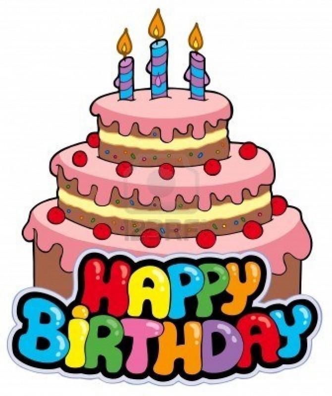 segno di buon compleanno torta illustrazione 670x800 Happy Birthday